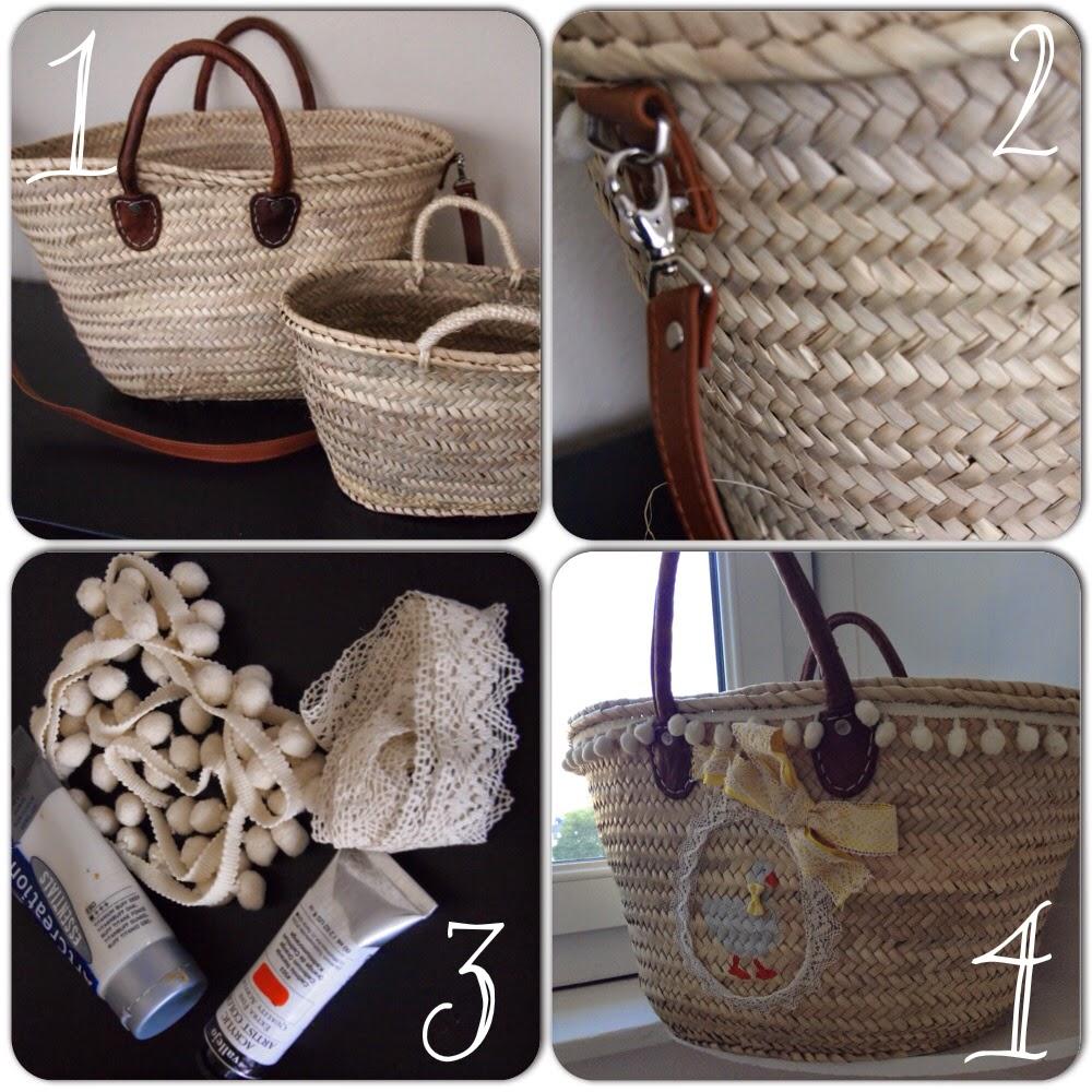 S o s papis novatos diy decorar cestos de mimbre Decorar cestas de mimbre