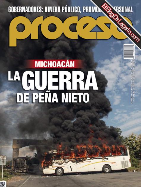 Revista PROCESO No.1941 Enero 2014 - Michoacan, La Guerra de Peña Nieto