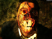 Extreme Creepy Face - Dark Gothic Wallpapers