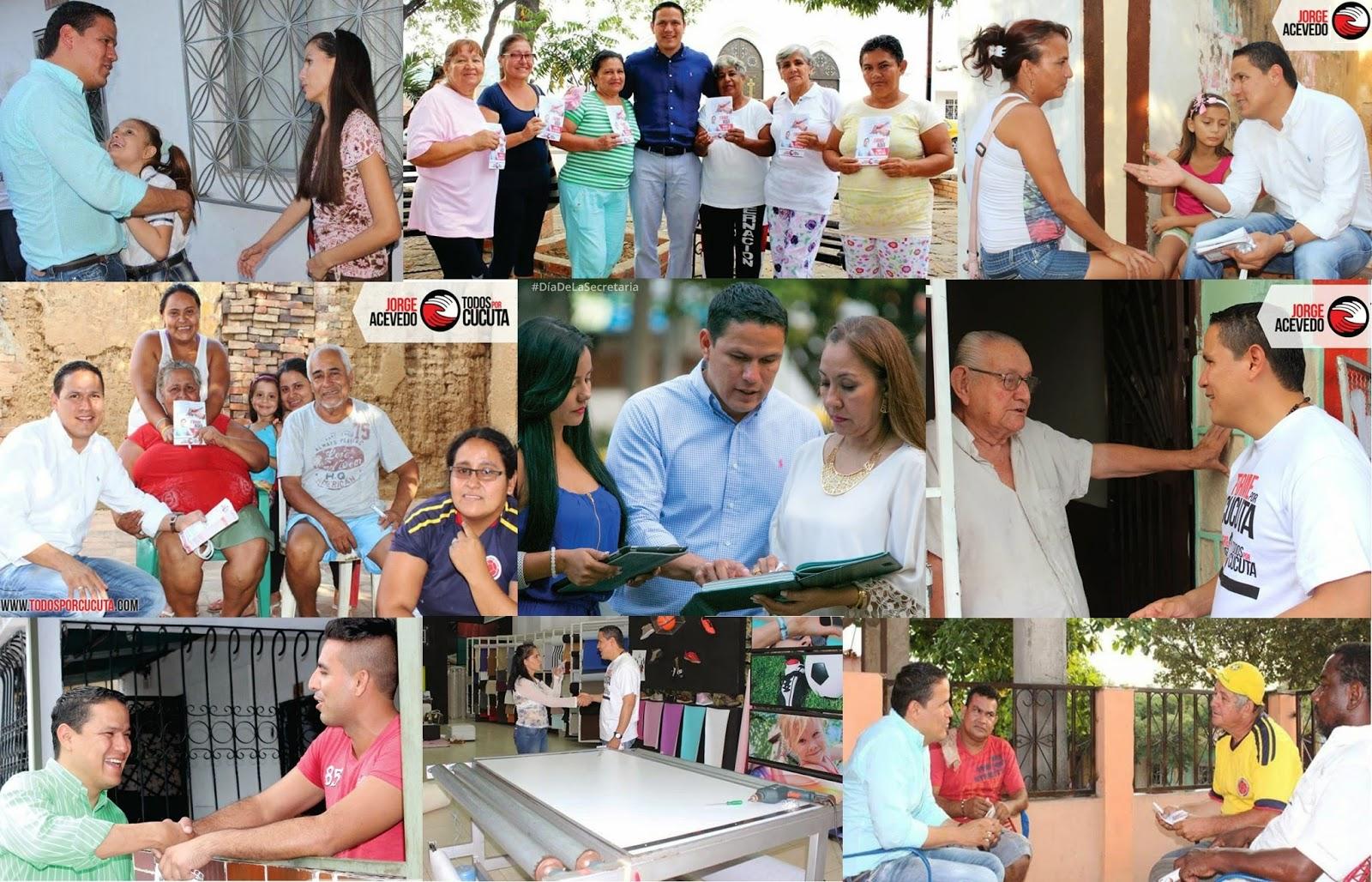 Seguidores de Jorge Acevedo quieren una #Cúcuta más segura, productiva y sin politiquería