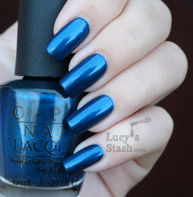 Lucy's Stash - OPI Germany Unfor-greta-bly Blue