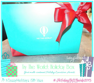 Try the World:  Holiday Box Across the World Adventure