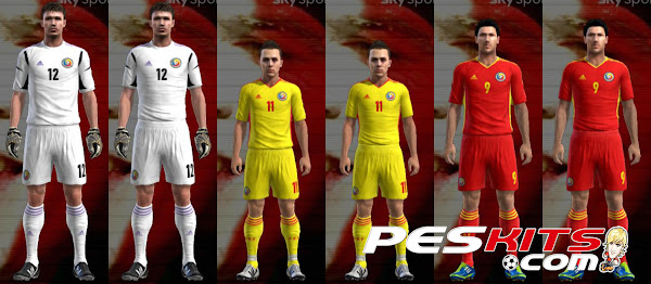 PES 2012 Romania 2012/14 Kits Techfit by Tottimas