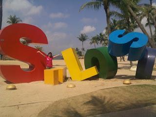 Singapore Sentosa Siloso Beach