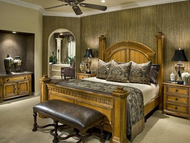 4185 ديكورات و اثاث غرف نوم   حوائط و الوان لغرفة نوم مودرن و كلاسيك