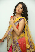 santoshini sharma photos in half saree-thumbnail-9
