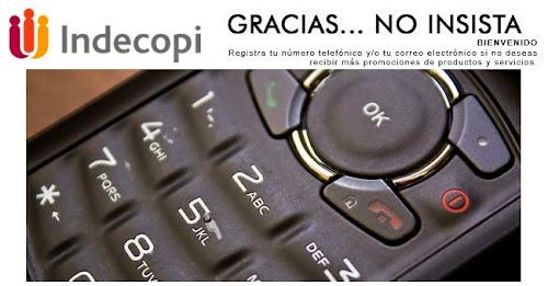 INDECOPI - GRACIAS NO INSISTA