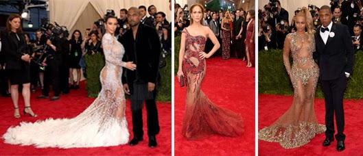 Kim Kardashian , JLo , Beyonce MET 2015