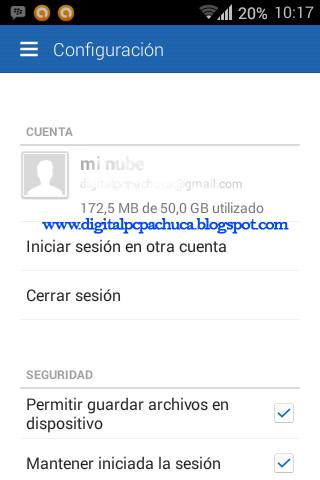 Usar app de box para aumentar a 50 GB gratis