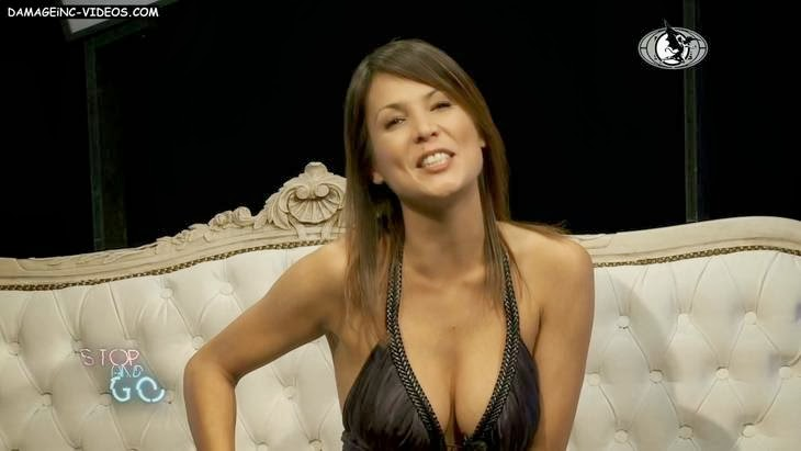 Busty Ursula Vargues hot cleavage HD video