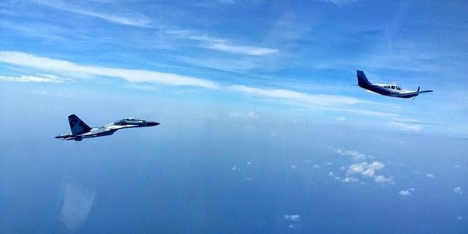Pesawat Australia Mendarat Setelah Sukhoi Ancam Tembak