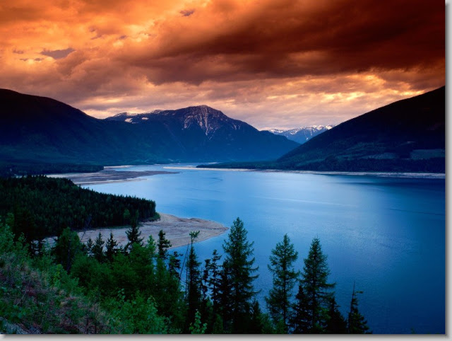 Upper Arrow Lake, British Columbia.