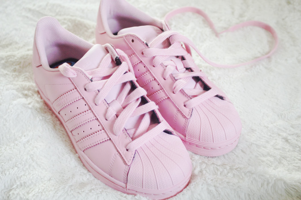 adidas supercolor light pink
