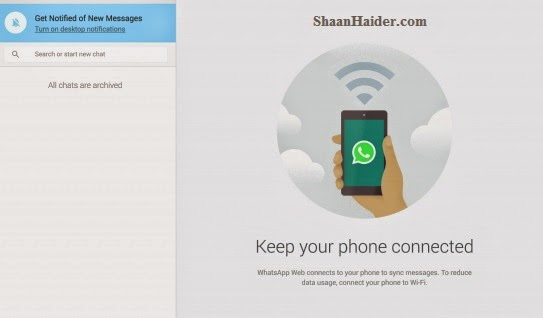 HOW TO : Use WhatsApp on Your Computer and Web Browser