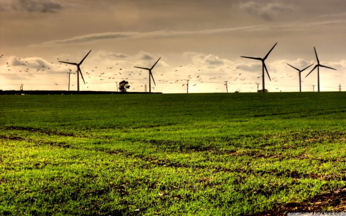 Wind Turbine HD desktop wallpaper  Widescreen  High Definition