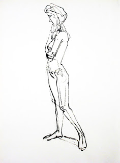 Stefan Friedemann: Skizze zur Sinnenden, 2010
