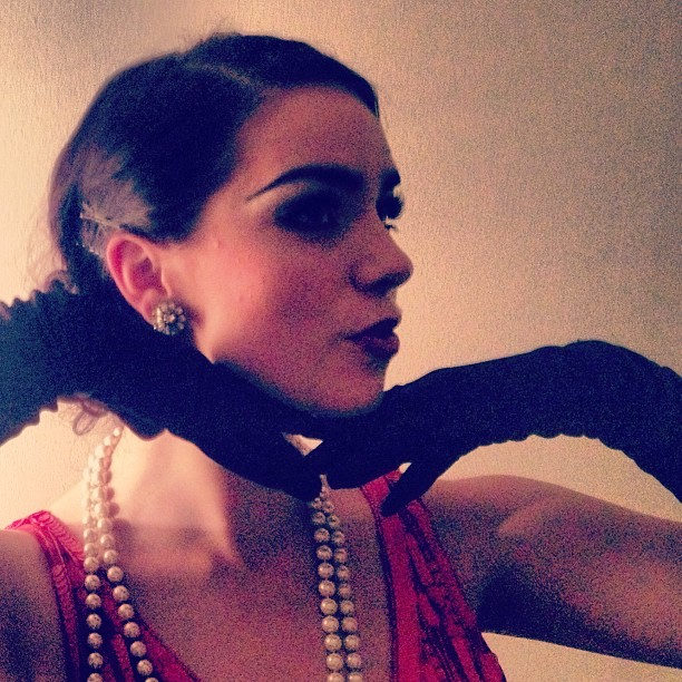 1920s style make up