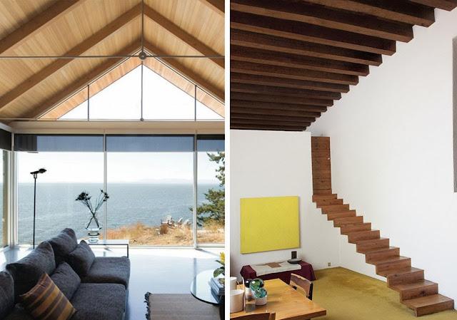 Techos de madera inspiraci n espacios en madera - Techos con vigas de madera ...