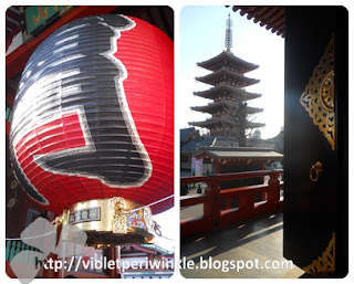 temple kaminarimon pagoda