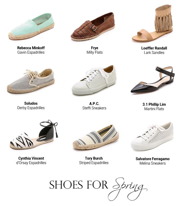 von vogue spring shoes flats espadrilles tory burch soludos frye