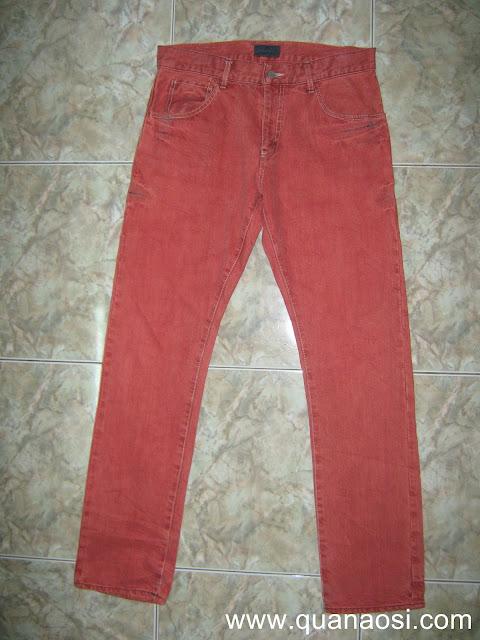Quần jean màu đỏ USA Grape Jeans