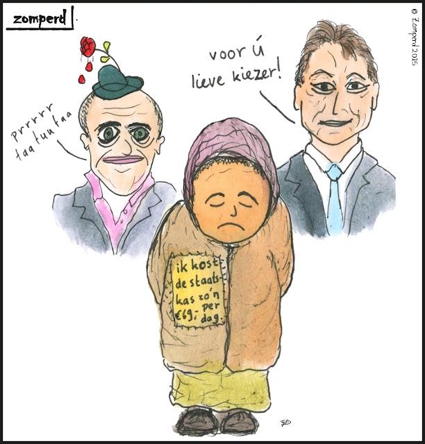 Zomperd - Voor ú, lieve kiezer!
