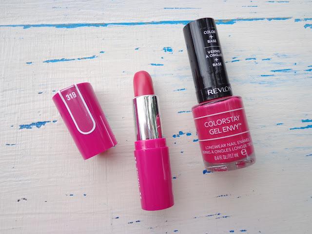 Flormar Pretty Lipstick, Revlon Gel Envy Nail Enamel