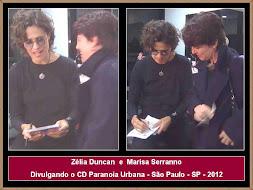 Zélia Duncan e Marisa Serranno