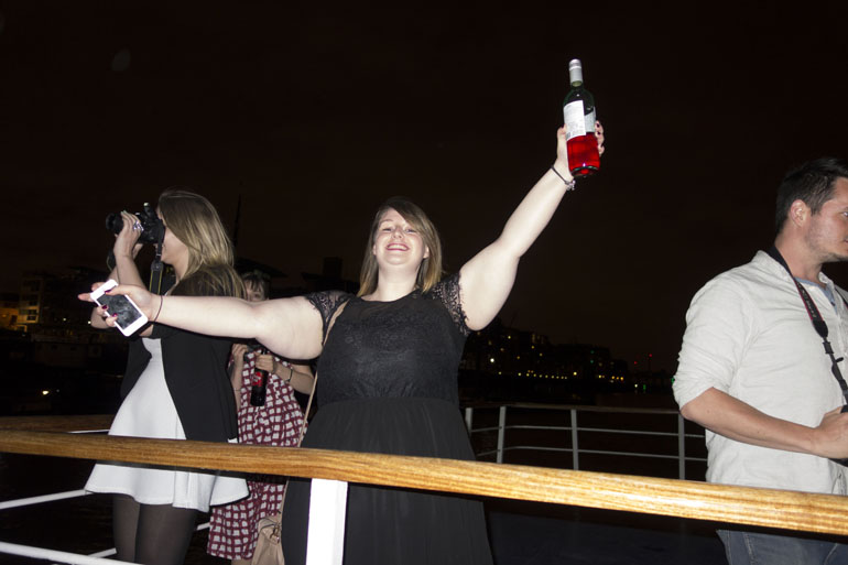 An evening on the Thames with Ladbrokes Party Life