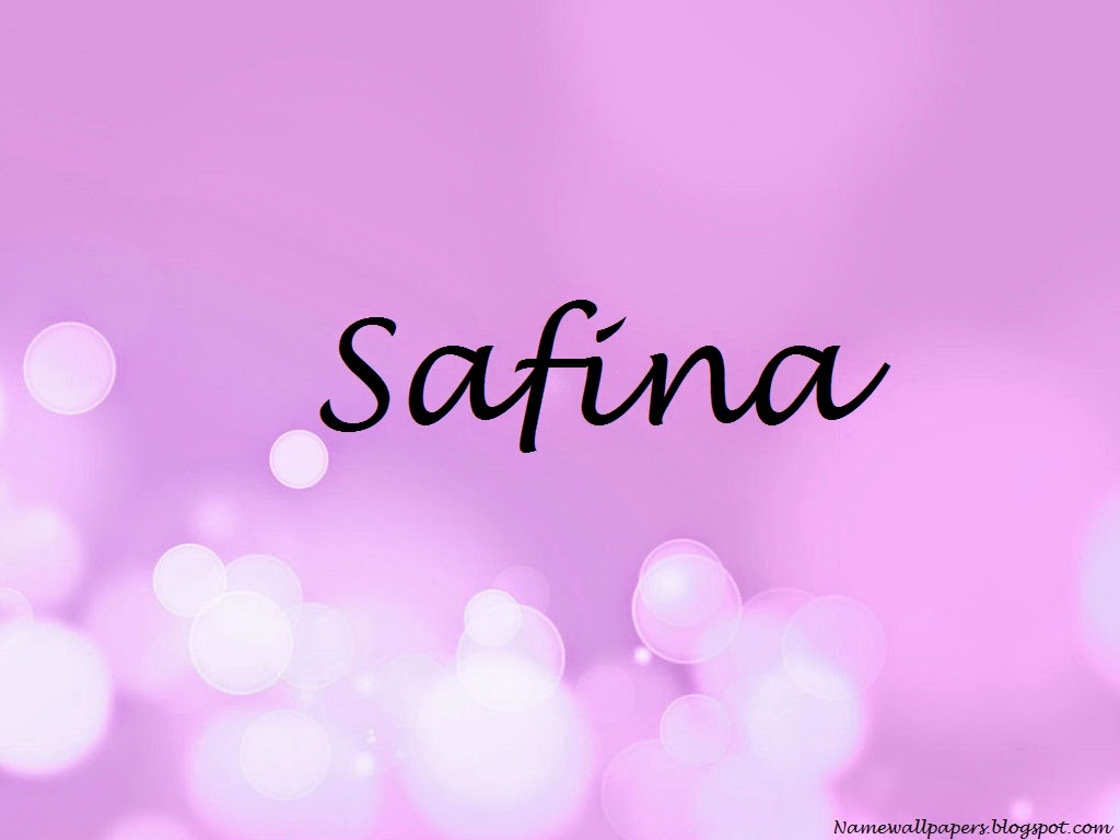Safina Meaning