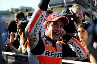 Akhirnya Marquez Meraih Juara Dunia MotoGP 2013