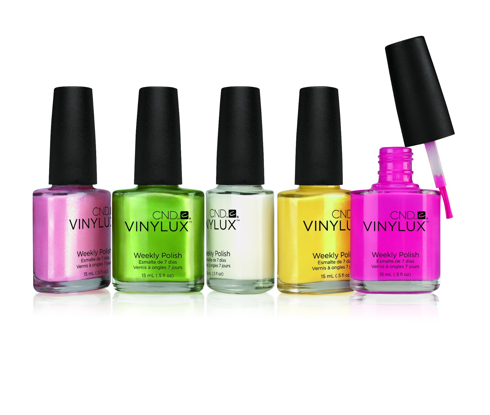 CND Vinylux è composto da due fasi: Vinylux Color + Vinylux Top Coat