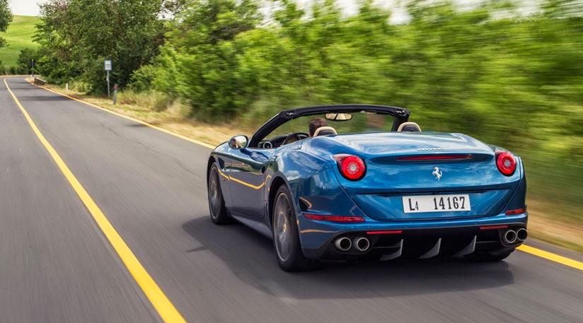 Ferrari California T, una trasera musculosa