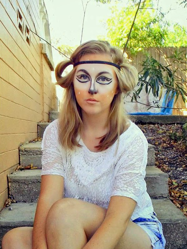Kay-- Deer make-up