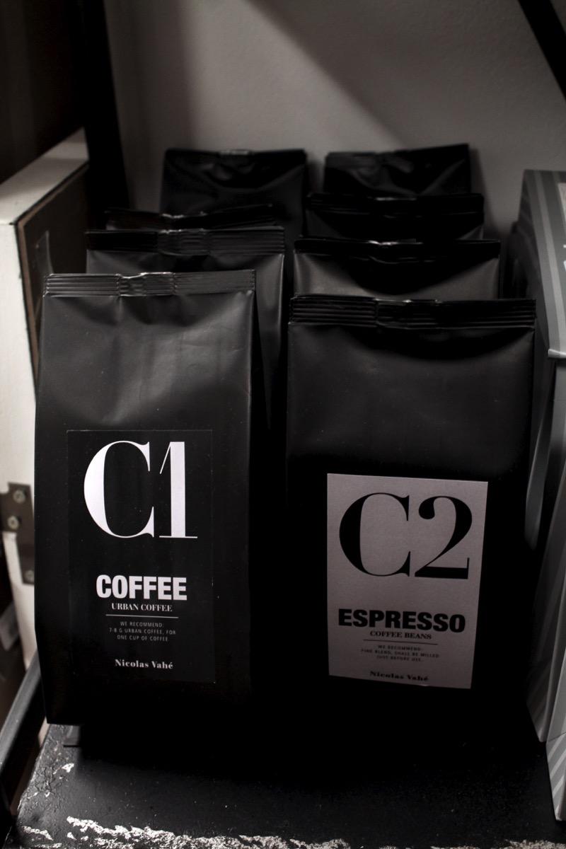 tyylikkäät kahvipussit
