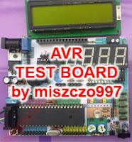 Płytka testowa AVR Atmega by miszczo997.