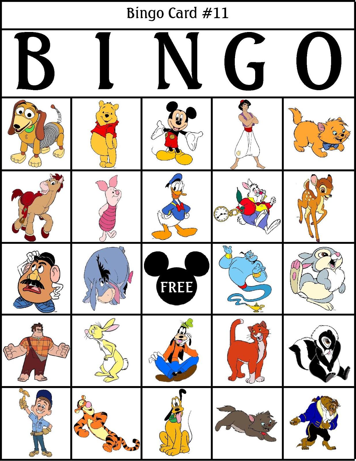 Bingo Board | New Calendar Template Site