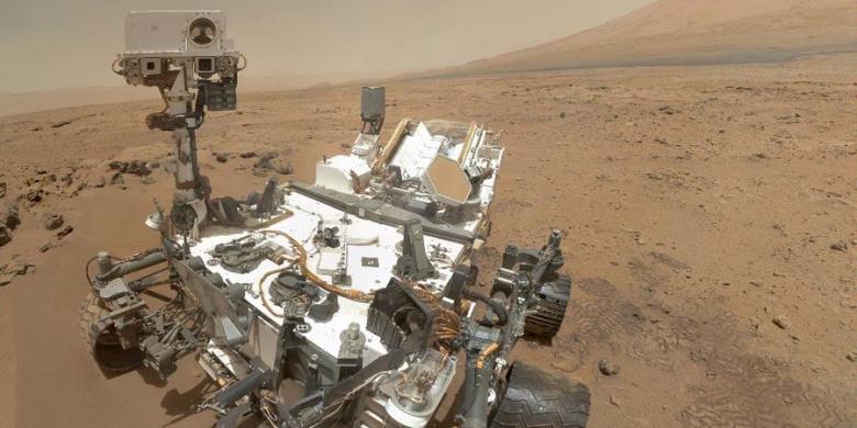 Satu Tahun Sudah Curiosity Berada di Mars