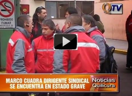 """Quilicura Noticias: """"Dirigente Sindical de Redbus se Quema a lo Bonzo por abusos laborales"""""""