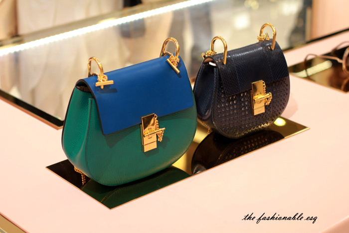 Chloe Drew Bag; Chloe Spring Collection + Bal Harbour Store Relaunch