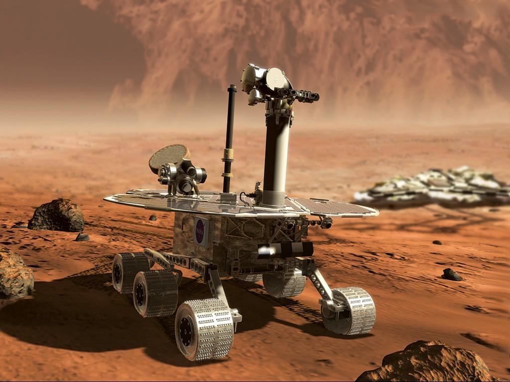 Wallpaper Curiosity Mars