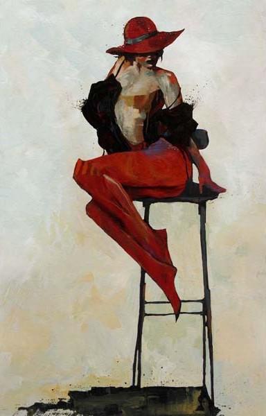 Doctor Ojiplático. Bruce Holwerda. Pintura   Painting