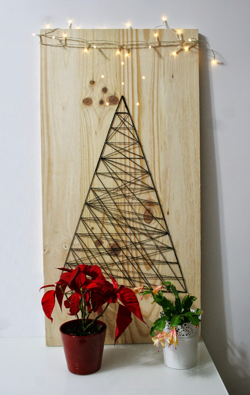 El árbol de navidad handmade de Decorar en familia - DIY5