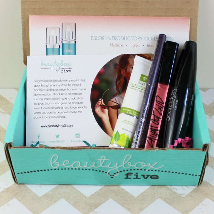 Beauty Box 5 March 2015: Hustle