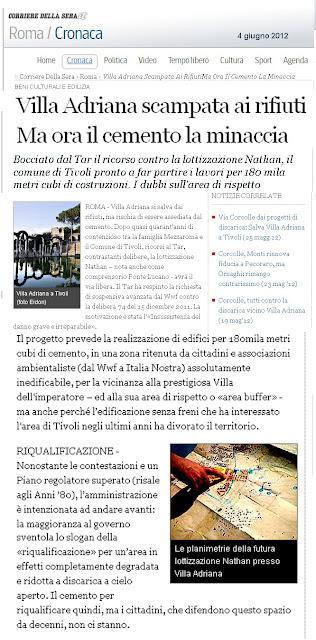 Prestiti Villa Adriana