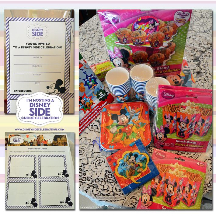 Our #DisneySide @ Home Celebration Part 1!