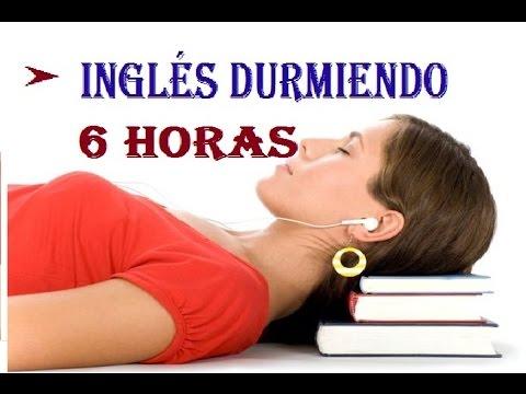 Mientras tu duermes, tu mente recibe información en inglés y español