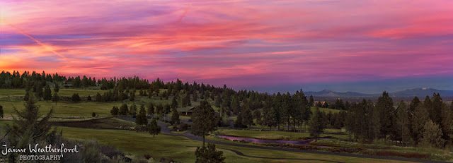 Sunset Awbrey Butte Bend Oregon Jaime Weatherford