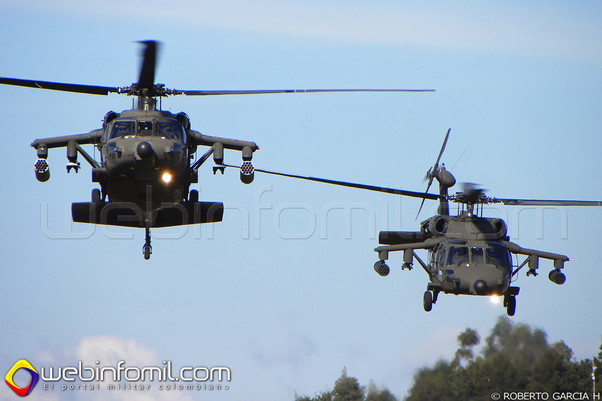 fuerza aerea colombiana arpia III