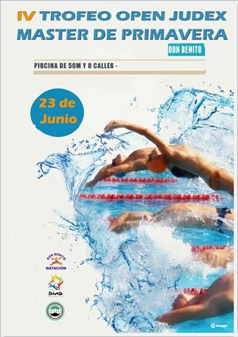 Alonso lozano mi blog iv trofeo open judex master de for Piscina don benito